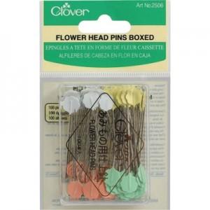 Flower Head Pins - Clover