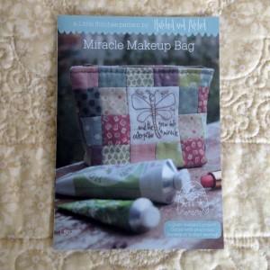 Miracles Makeup bag pattern
