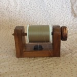 Wooden Spool Holder