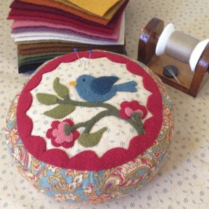 Little Woolly Bird Pincushion