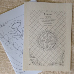 Treasured Forever wholecloth quilt designs