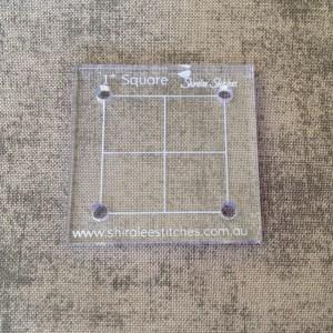 1 inch square template