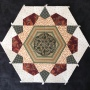 Shiralee Stitches Old Time Kaleidoscope Block 11 - part of BOM programme