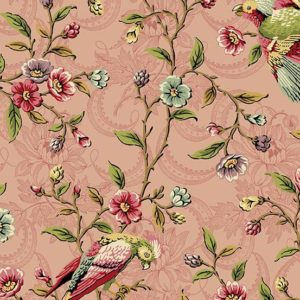 reproduction fabric, Bally Hall range designed by Di Ford Hall for Andover