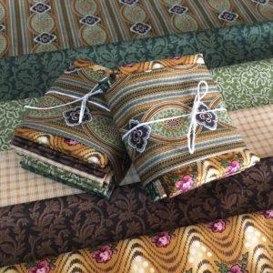 Bally Hall fabric bundle green