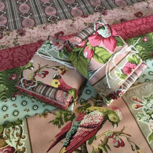 Bally Hall fabric bundle pink