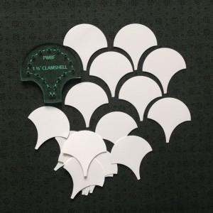 1 half inch clamshells