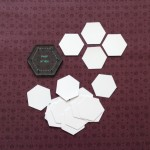 3 quarter inch hexagons