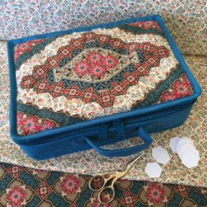 English paper piecing, yazzii bag