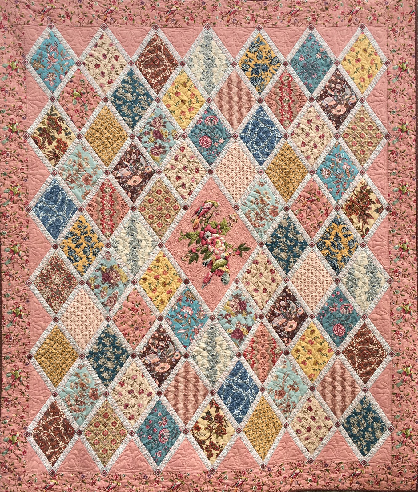Inspired by Jane Quilt Pattern – design by Shiralee Stitches