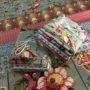 Bally Hall fabric bundle teal