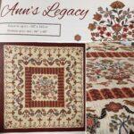 Ann's Legacy Quilt by Di Ford..BOM...2021