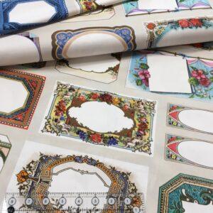 Quilt Labels Panel - large