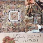 Chintz Patchwork ca1820 quilt layout