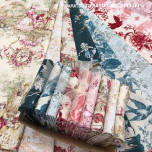 Box of Beauties Toile selection 2
