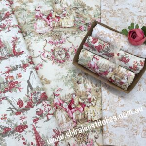 Box of Beauties Toile selection lights